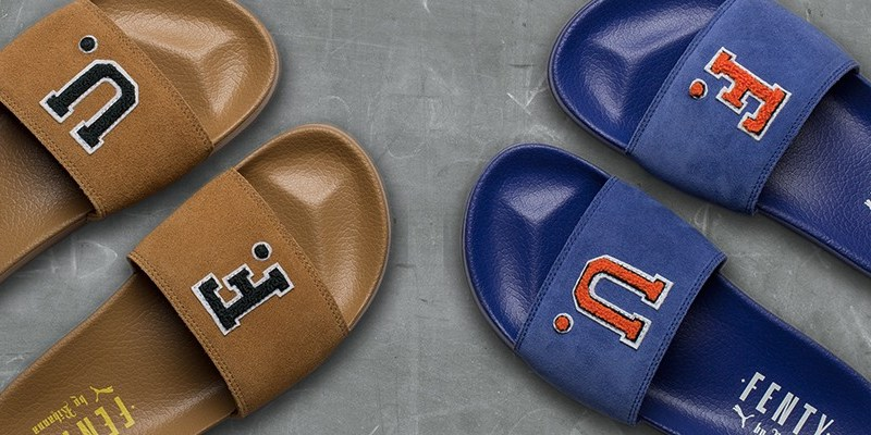 Fenty Puma by Rihanna F.U. suede slides coming October 5