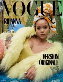 Rihanna covers Vogue Paris