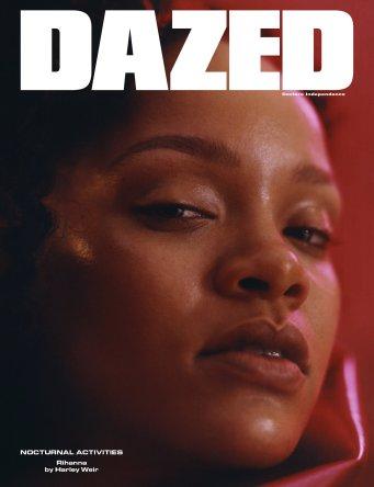 Rihanna covers Dazed Magazine