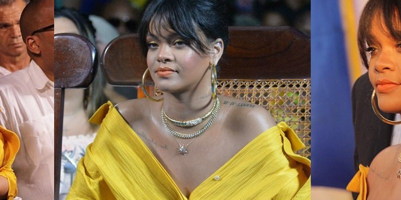Rihanna has a street named after her in Barbados