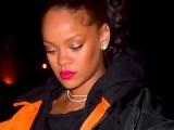 Rihanna parties in New York December 8, 2017