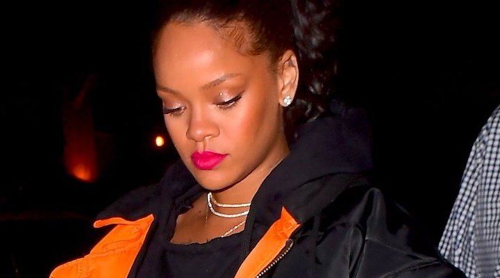Rihanna parties in New York