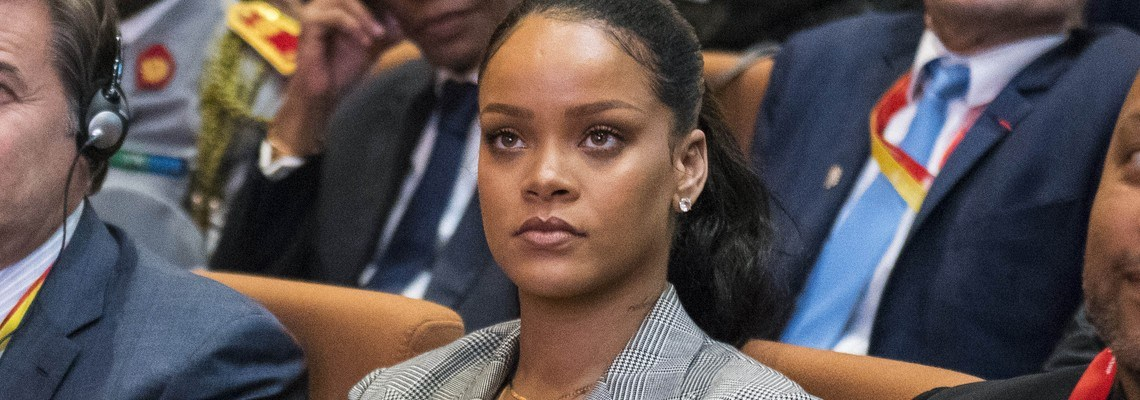 Rihanna attends GPE Financing Conference in Dakar
