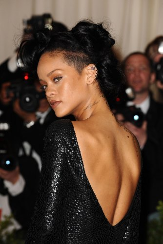Rihanna at Met Gala 2012 Tom Ford