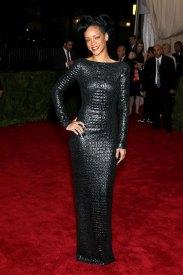 Rihanna at Met Gala 2012 Mel Ottenberg