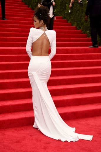 Rihanna at Met Gala 2014 Stella McCartney