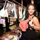 Rihanna attends Savage x Fenty launch in New York on May 10, 2018
