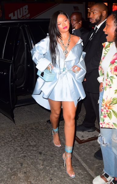 Rihanna arrives at Clara Lionel Foundation benefit on June 6, 2018 charity