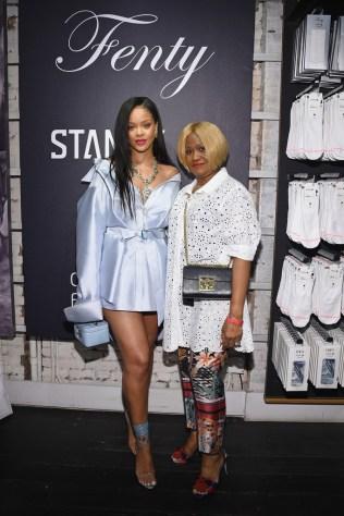 Rihanna at Clara Lionel Foundation benefit in New York on June 6, 2018 Monica Fenty