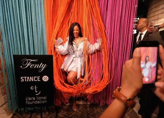 Rihanna at Clara Lionel Foundation benefit in New York on June 6, 2018