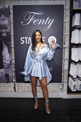 Rihanna at Clara Lionel Foundation benefit in New York on June 6, 2018 Charity
