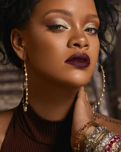 Rihanna Fenty Beauty Moroccan Spice Promotional Pictures