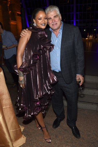 Rihanna attends Ocean's 8 premiere after party on June 5 in New York Gary Ross Director