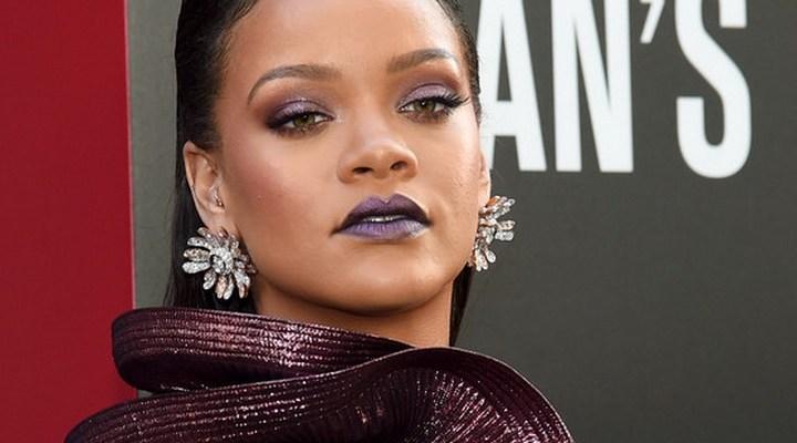 Rihanna attends Ocean's 8 world premiere