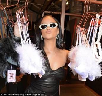 Rihanna visits Savage x Fenty pop up shop in London on June 15, 2018 Damn, Black Widow, On the Reg, U Cute