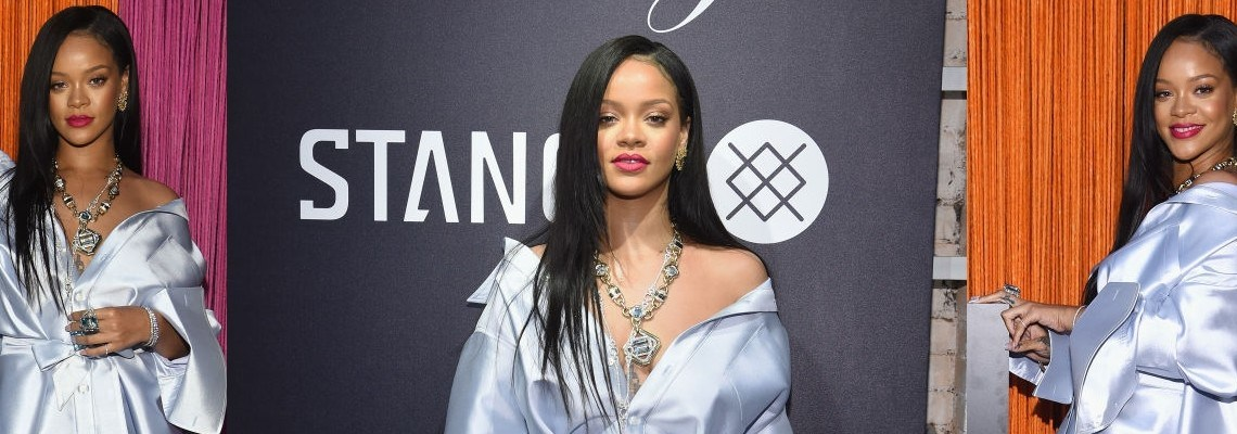 Rihanna attends Clara Lionel Foundation benefit