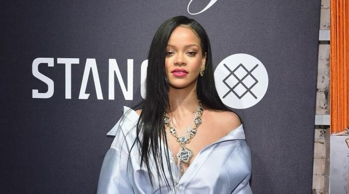 Rihanna attends Clara Lionel Foundation benefit