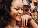 Rihanna promotes Fenty Beauty in Singapore