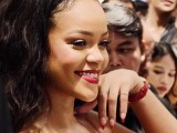 Rihanna promotes Fenty Beauty in Singapore