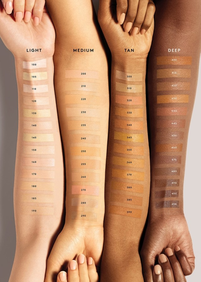 Fenty Beauty Pro Filt'r Concealer all shades on skin