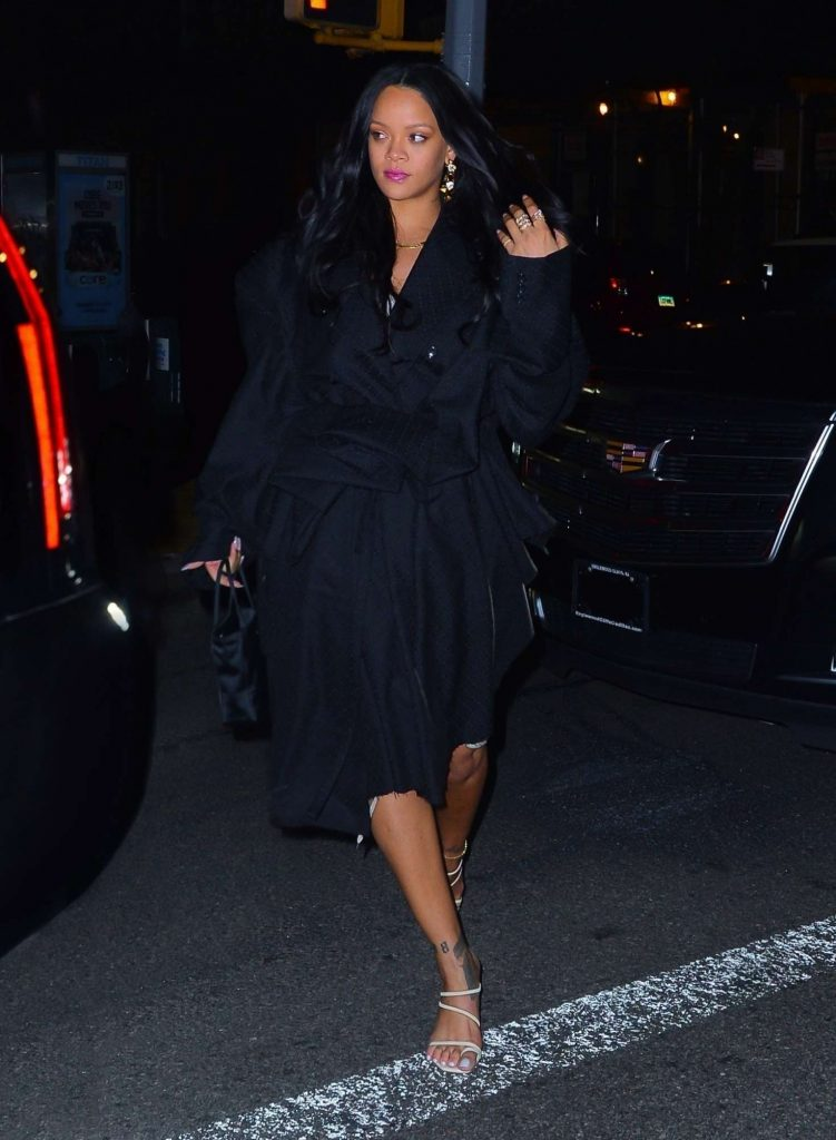 Rihanna at Bar & Books on April 15, 2019