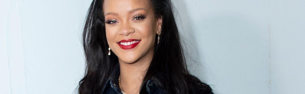 Rihanna visits FENTY store in Paris