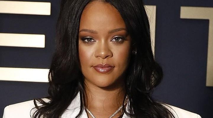 Rihanna debuts FENTY line at a pop-up shop in Paris