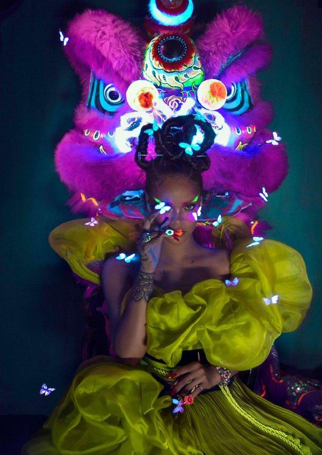 Rihanna for Harper's Bazaar China August 2019
