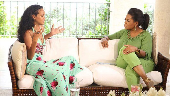 Rihanna & Oprah, 2012.