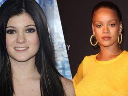 Kylie Jenner Rihanna - Fenty Beauty, Kylie Cosmetics