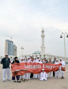 di Masjid Terapung