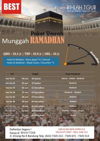 Umrah munggah Ramadhan