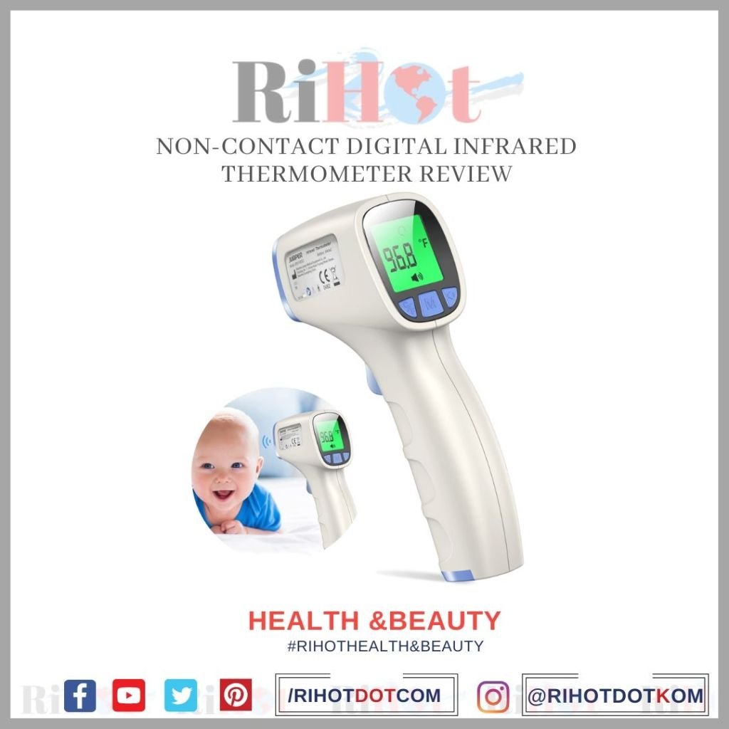 Non-Contact Digital Infrared Thermometer Review, Features ,pros & cons
