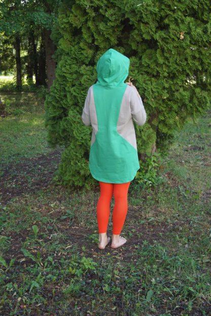 lapse ootamise ja imetamise kleit Iiris tagant