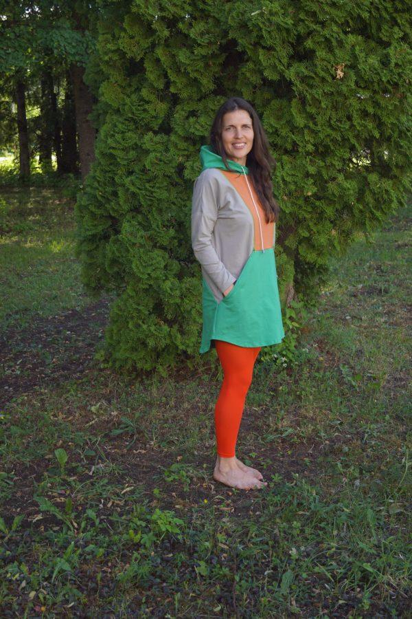 silmatera ootamise ja imetamise kleit Iiris küljelt