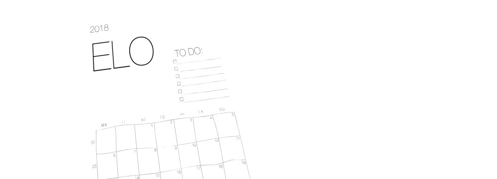 elokuun kalenteri