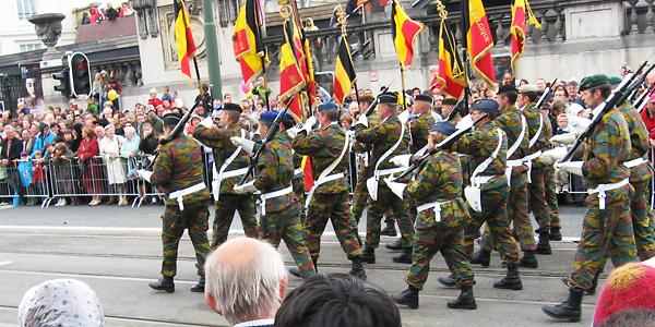 Belgian kansallispäivä 21.8.