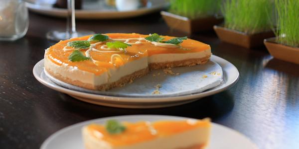 Makoisa mango-juustokakku