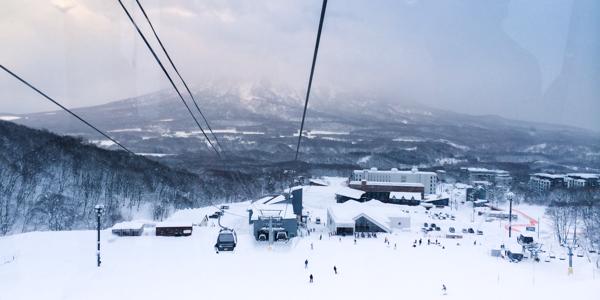Laskettelemaan Hokkaidon puuterilumille Japaniin