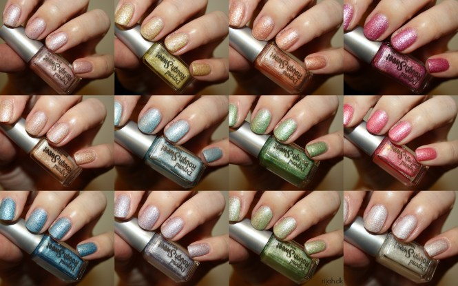Depend Rough Sweet Collection swatches