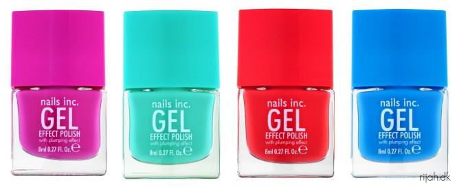 Nails Inc Gel Effect polish SEPHORA Forårsnyheder 2014