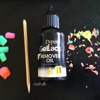Depend GelLack Remover Oil - metode 1