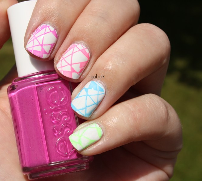Fancy Friday Geometrisk - geometric nails