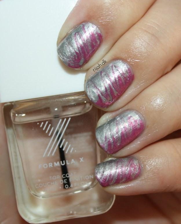31DC2014 08: Metallic Nails