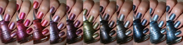 China Glaze Hologlam Holographic Collection