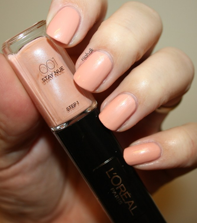 Loreal 001 Stay Nue Loreal Infallible Nails
