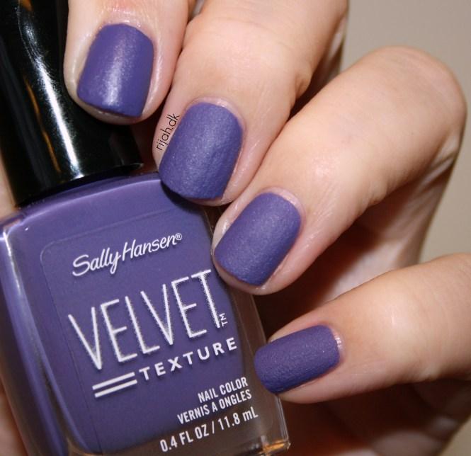 Sally Hansen Velvet Texture og Luxe Lace Velour