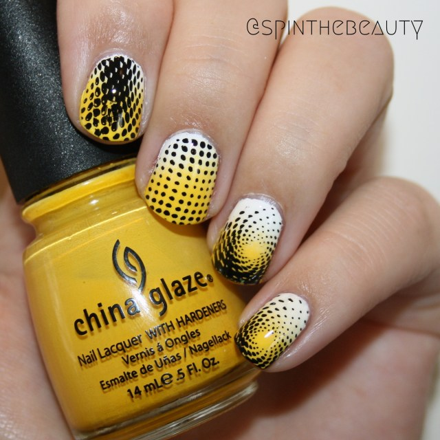 31DC2015 Yellow Nails