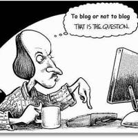 At være eller ikke at være blogger?