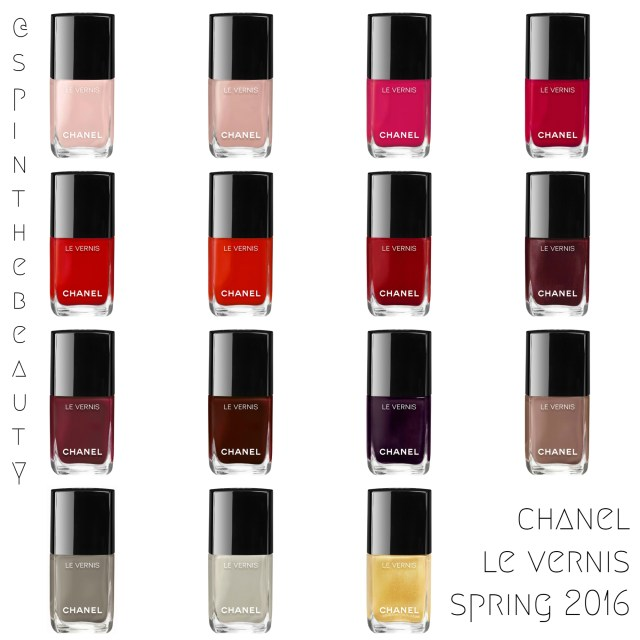 Chanel Le Vernis Spring 2016 Chanel Le Vernis Long Wear Polish